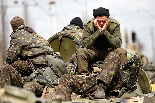 Массовое дезертирство из рядов ВСУ на Западной Украине