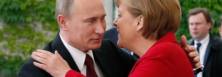 Меркель шикарным подарком загладила вину перед Путиным за высылку дипломатов