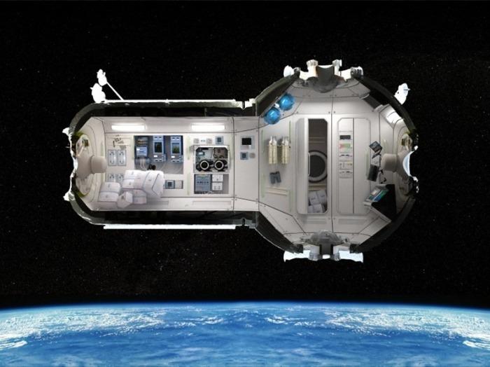 Россияне планируют построить отель в космосе