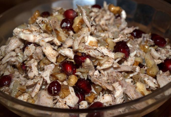 """Сказочный салат """"Шамаханская царица"""" - вкусно с лавашем!"""
