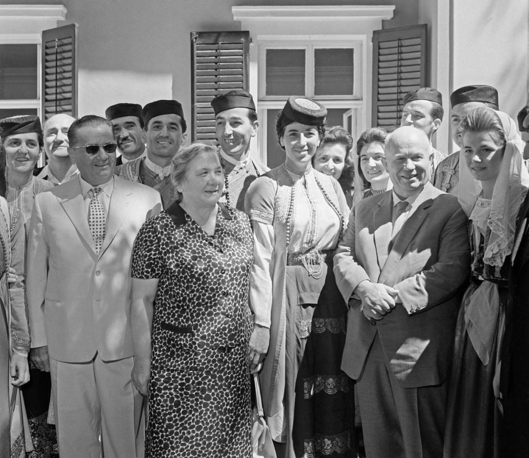 Nikita Khrushchev visits Yugoslavia, 1963
