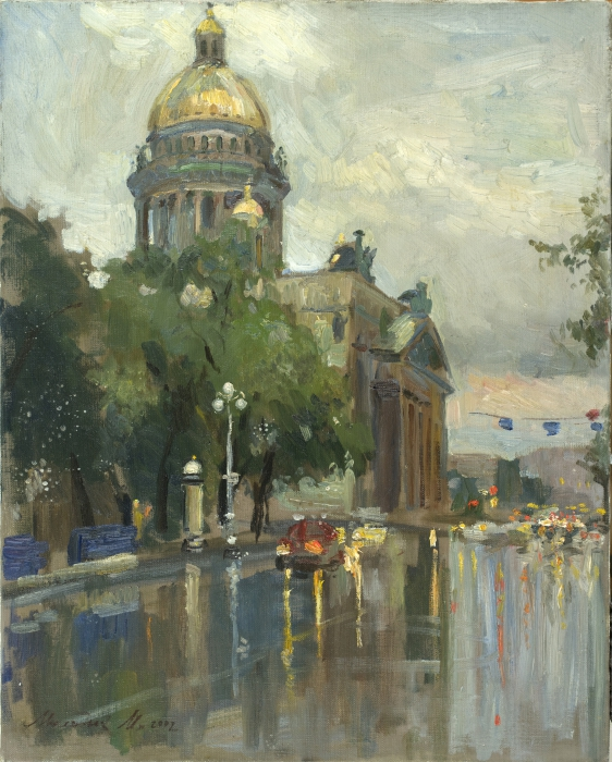 Дождливый Петербург. Автор: Молодых Мария.