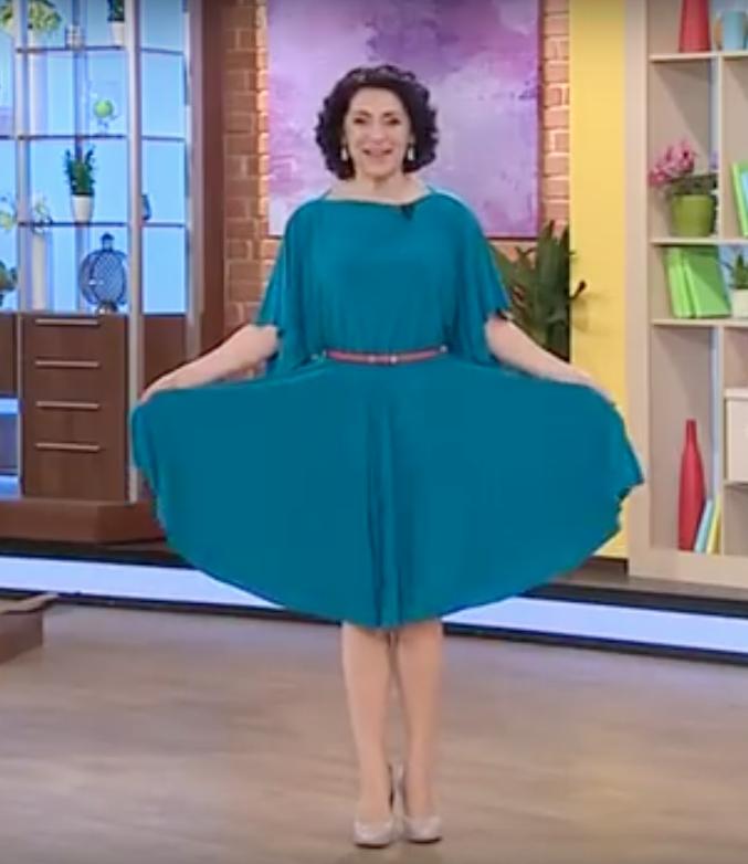 Простой и быстрый мастер-класс: праздничное платье одним швом