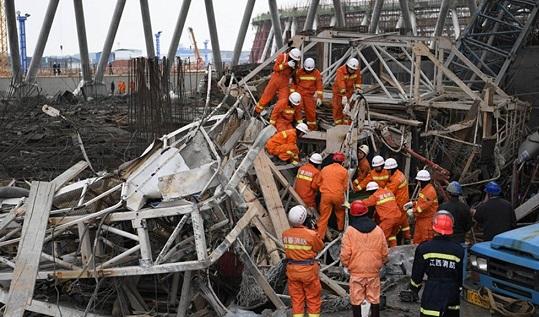 ВКитае девять человек погибли при обрушении наТЭЦ