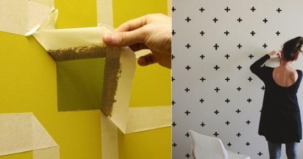 Вот как можно обновить дизайн стен перед Новым годом, практически не вкладывая денег в ремонт. 11 эффектных идей!