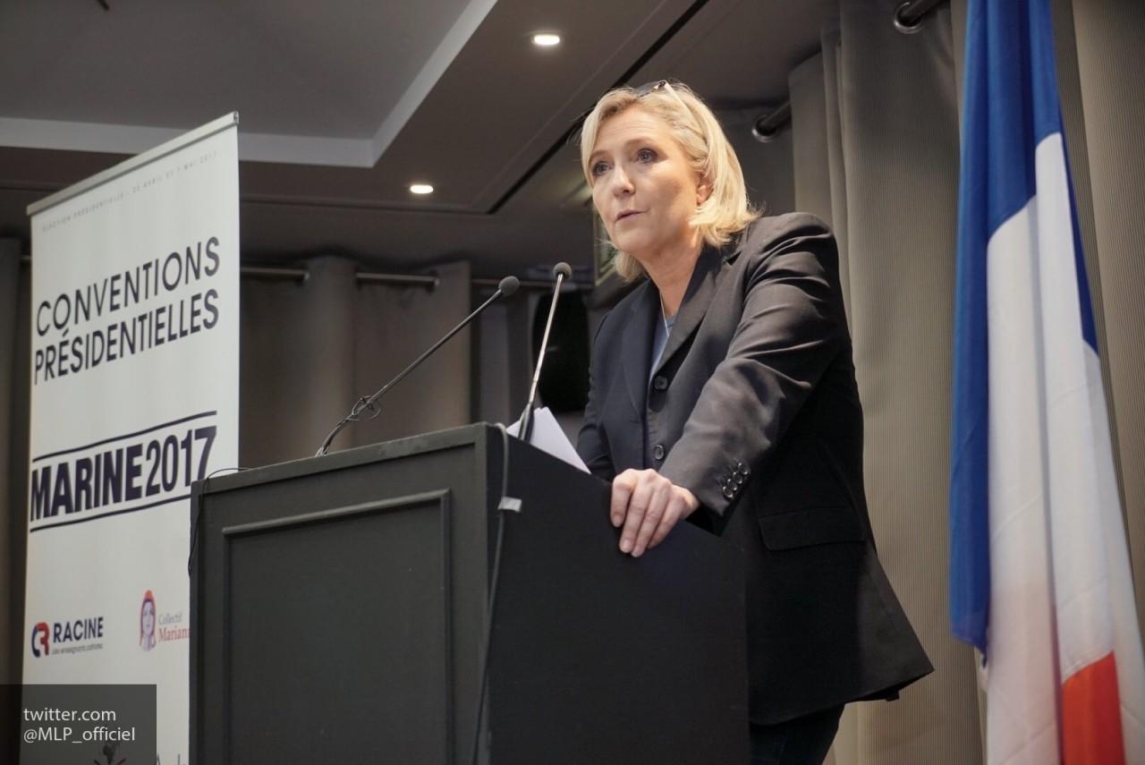 Марин Ле Пен заявила о необходимости сотрудничества России и Франции