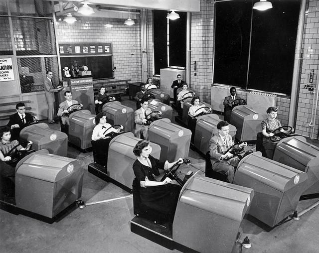 7. Школа вождения, 1953 год. история, фото