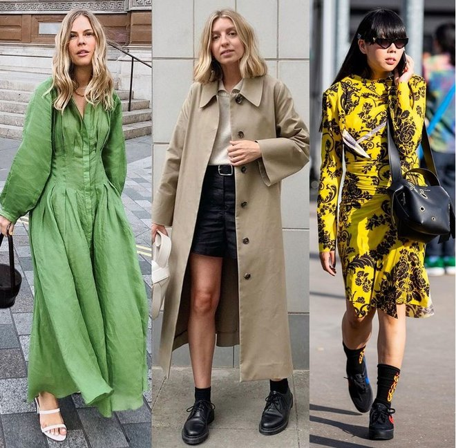 Британские модные блогеры: Jessie Bush, Brittany Bathgate и Susie Lau