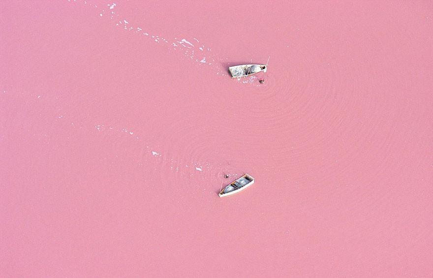 22. Озеро Ретба, Сенегал земля, красота, планета, природа