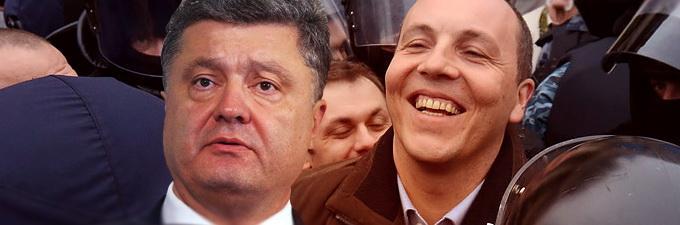 Украинский юрист усмотрел геноцид в действиях Порошенко и Парубия