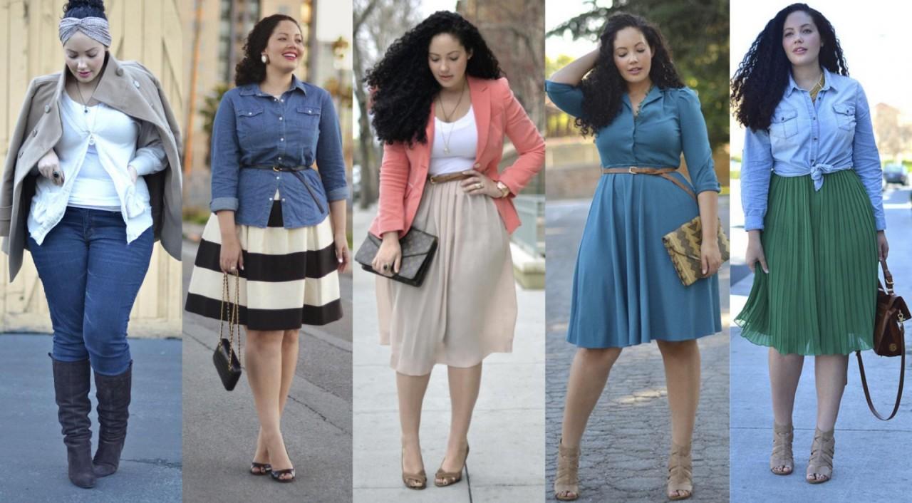 Пышная мода, или Что носить девушкам с аппетитными формами?