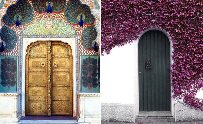 Великолепные входные двери, ведущие к счастью