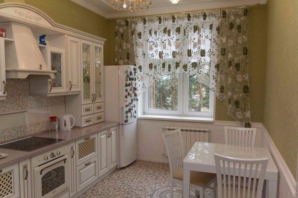 Небольшие кухни в обычных квартирах
