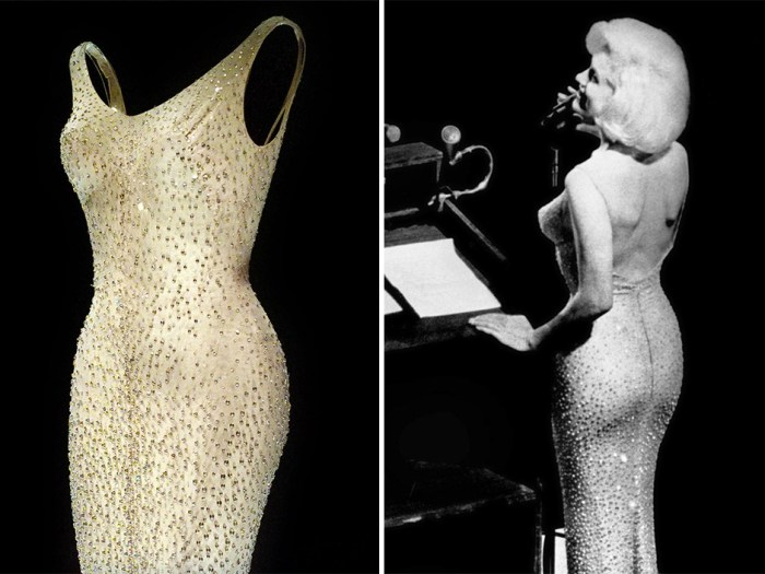 Легендарное платье Мэрилин Монро.   Фото: google.ru.