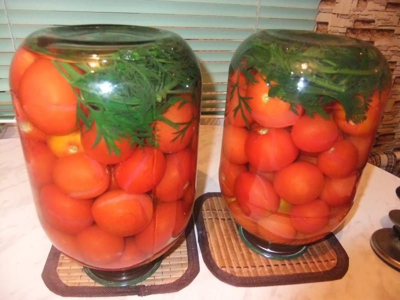 Самые вкусные сладкие помидорчики с морковной ботвой и никаких специй!
