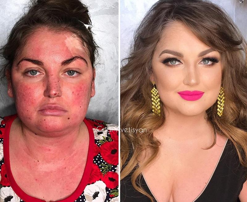 12 примеров того, как макияж может изменить женщину до неузнаваемости