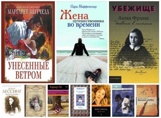 10 исключительных книг написанных женщинами!
