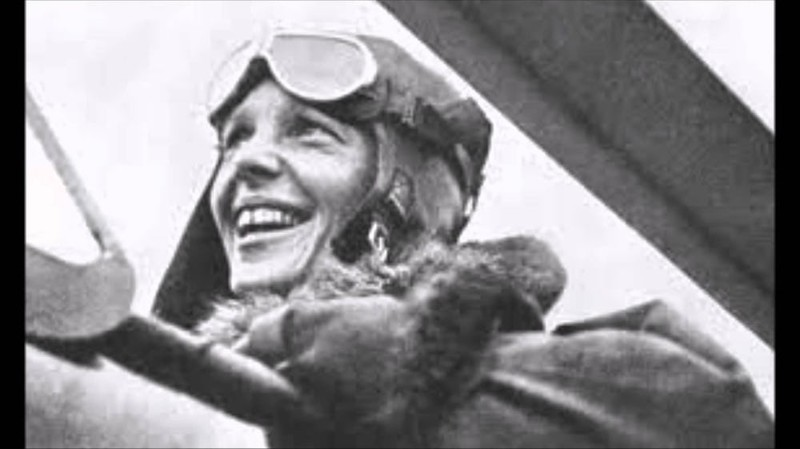 Пропавшая летчица Амелия Эрхарт дикая природа, загадки, истории, исчезновения, мистика, пропавшие, путешествия, тайны