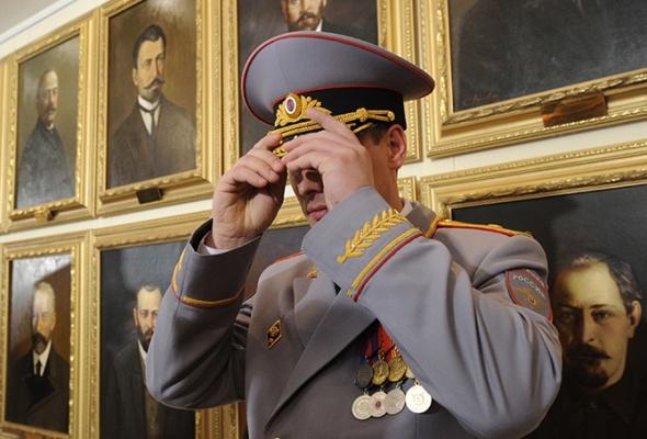 Путин освободил от должностей более десяти генералов МВД