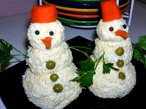 Тема 3. Закусочные шарики «Новогодние игрушки» . 2013!!!