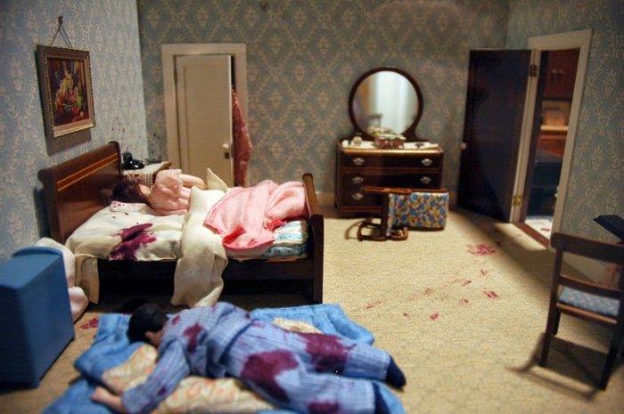 Миниатюрные сцены необъяснимых убийств