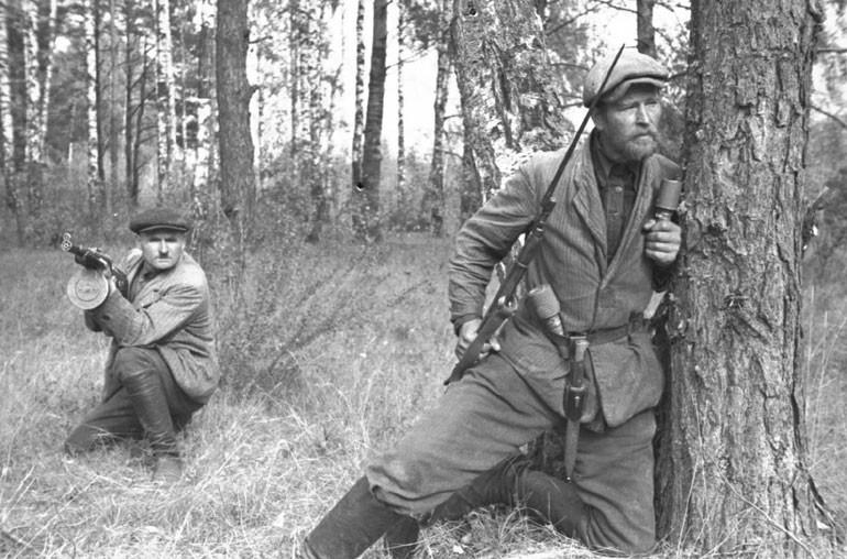 Партизанское движение 22 июня, Великая Отечественная Война, день памяти и скорби