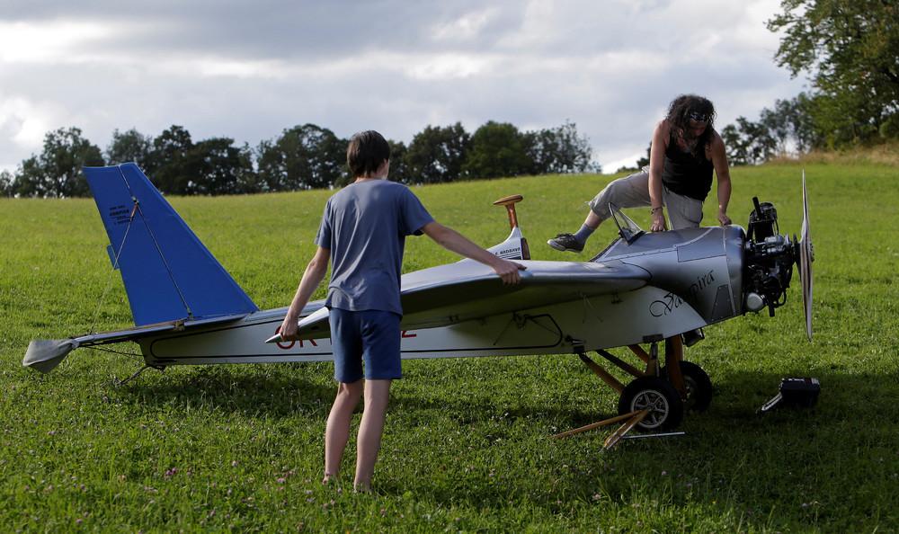 Самолет для полетов своими руками