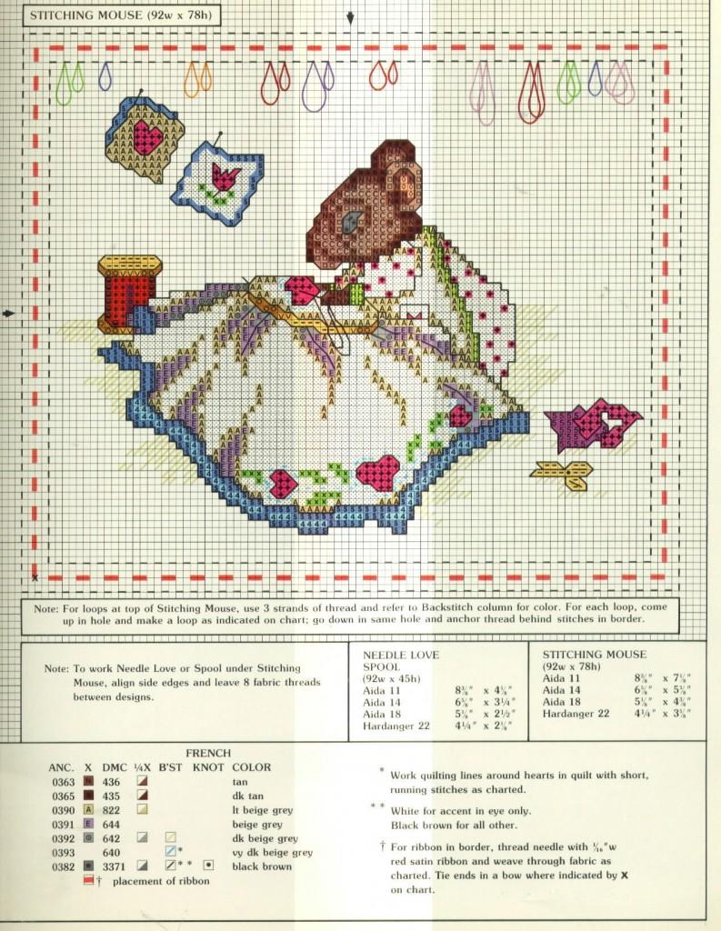 Схемы вышивки от мастериц 151