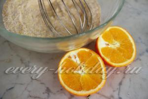 добавляем апельсиновый сок