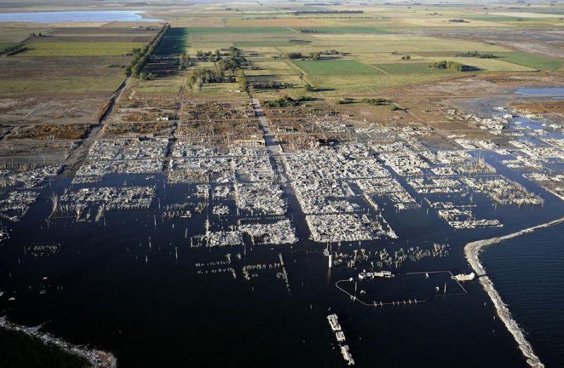Город пробыл 25 лет под водой