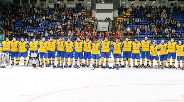 Юниорская сборная Украины на…