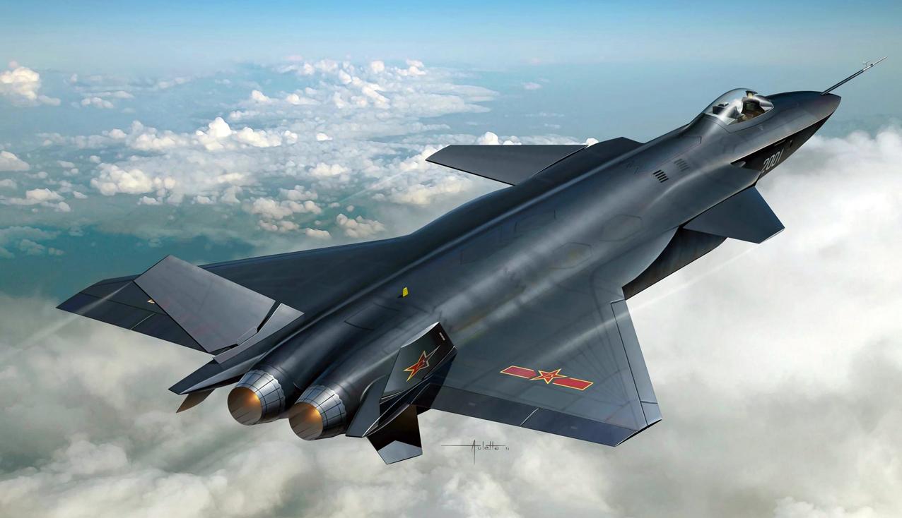 """Китай представил """"ушастый"""" истребитель 5-го поколения """"Цзянь-20""""(Chengdu J-20)"""