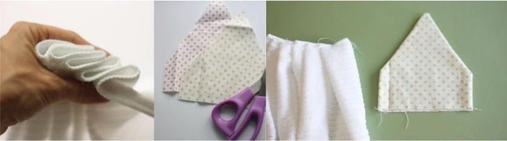 Кухонное полотенце своими руками с держателем