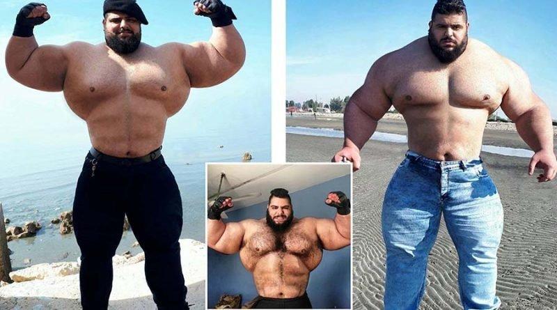 Саджад Гариби — «иранский Халк» с большим сердцем Саджад Гариби, в мире, внешность, иранский Халк, качок, люди