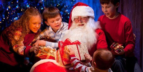 Новый год с детьми подарки