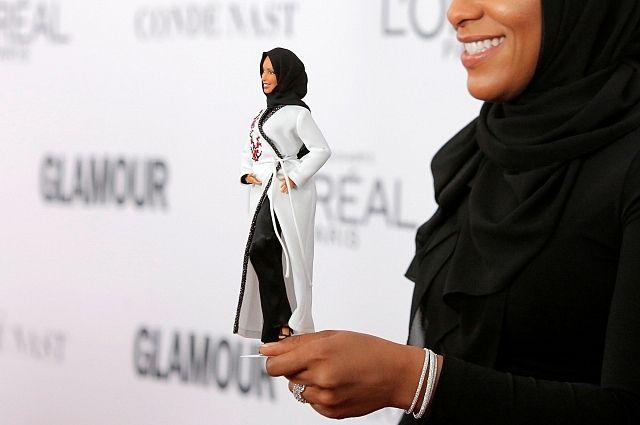 В 2018 году поступят в продажу куклы Барби в хиджабе