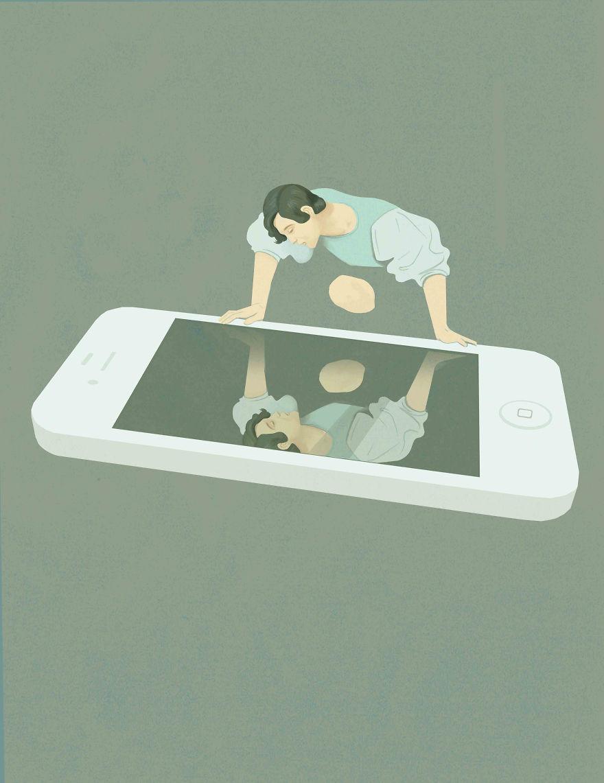 15 иллюстраций о грустной правде современной жизни