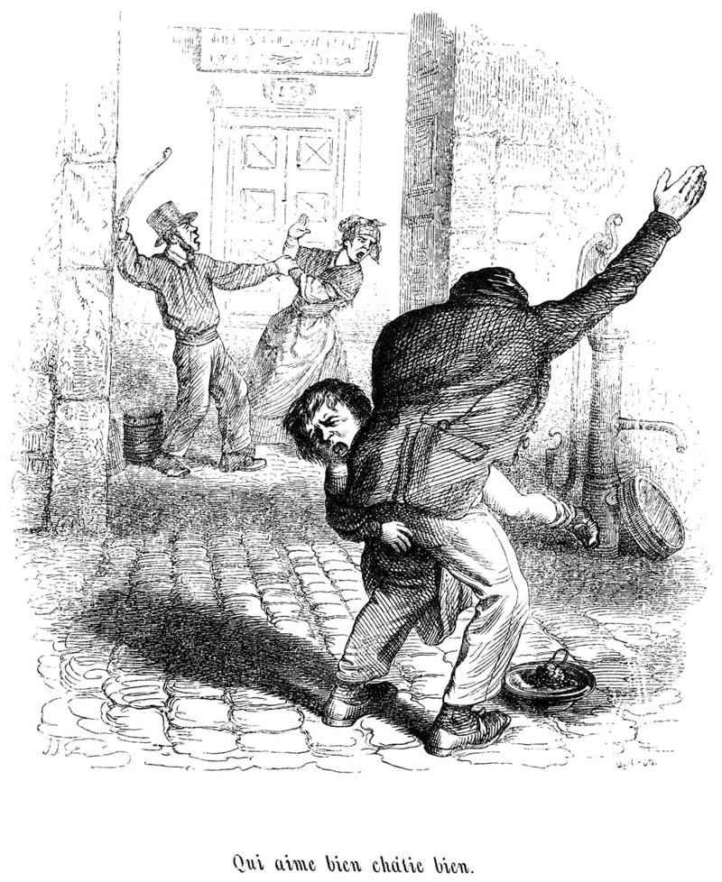 8. Домашнее насилие и продажа жены — как единственный способ развестись с ней Георгианская эпоха, англия, британия, великобритания