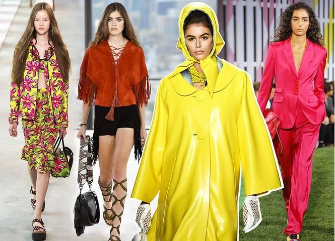 Модные вещи, которые были представлены на неделе моды в Нью-Йорке 2019-2020