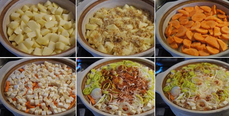 простой суп с мясом и картошкой