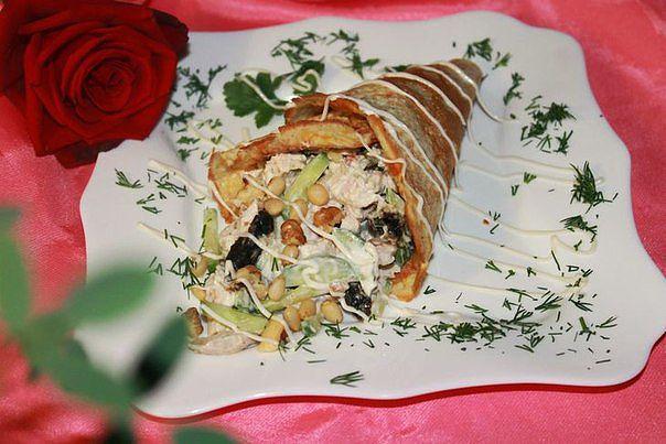 Тор - 10 вкуснейших мясных салатов