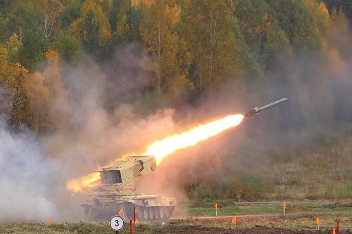 "ТОС-1А ""Солнцепек"" будет модернизирована"