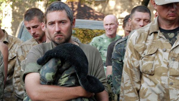 Украинских силовиков отпустят после согласования списков пленных