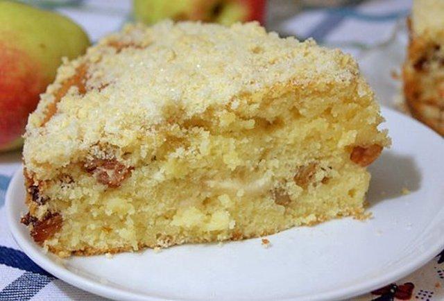Яблочный пирог «Домашний». Вкус, скажу честно — обалденный!