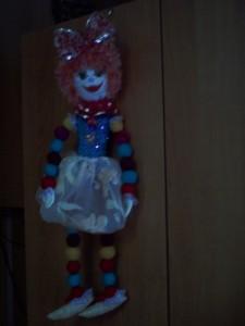 "Кукла-циркачка ""Маргарита"""
