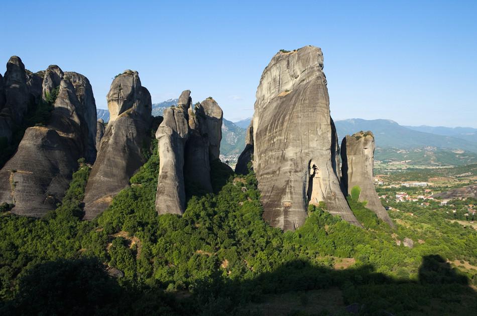 Метеора, Греция геология, история с географией, красота, скалы