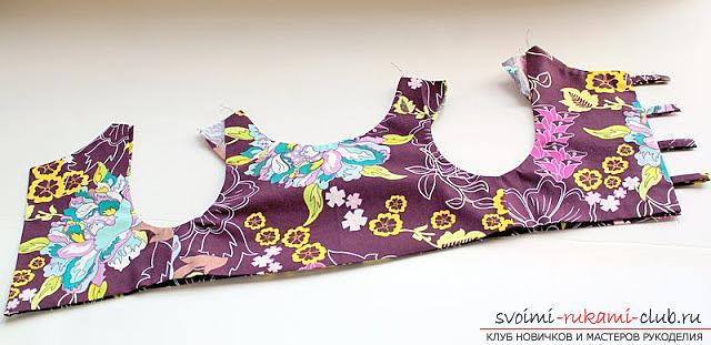 Пошив платья для дочки своими руками по инструкции с фото. Фото №19