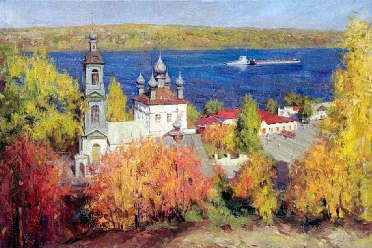 художник Александр Евгеньевич Косничев картины – 01