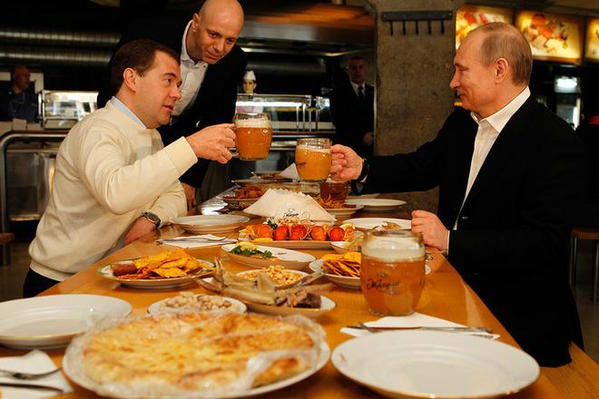 Меню Путина: сыр Бри, трюфел…