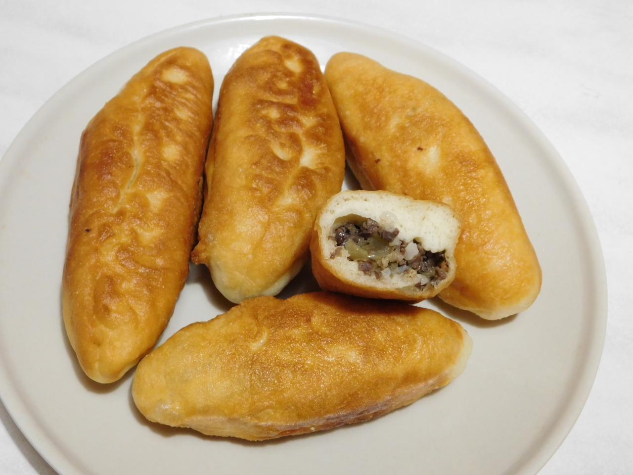 Похвастушки - пирожки из теста Людмилы